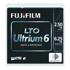 Ленточный картридж Fujifilm Ultrium LTO-6 (кассета LTO6) (объем 2.5/6.25 TB)