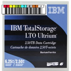 Ленточный носитель (картридж) Imation/IBM Ultrium LTO-6 с наклейкой (data cartridge with barcode label 00V7590L), 2,5/6,25TB