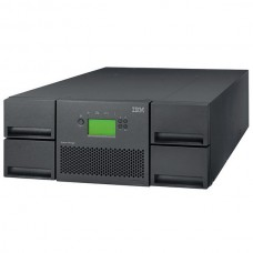 IBM TS3200 Ultrium Driveless Tape Library (model L4U  4U rack  up to 4 half-high or 2 full-high drives  48 slots  barcode reader  no cables)
