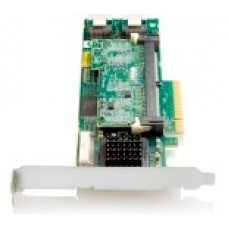 HP Smart Array P410/256 MB Controller RAID 0,1,1+0,5,5+0 (8 link: 2 int (SFF8087) ports SAS) PCI-E x8, incl. h/h  and amp  f/h. brckts