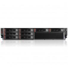 IBM x3620 M3 Rack 2U, Xeon 4C E5620 (2.40GHz/1066MHz/12MB), 1x4GB RDIMM, noHDD 3.5