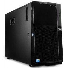 IBM ExpSel x3500 M4 Tower 5U,1xXeon E5-2609 4C(2.4GHz/10M/1066MHz/80W),1x4GB 1.35V RDIMM,noHDD 2.5''HS SAS/SATA(8/32up),M5110(512MB+batt,raid 0/1/10/5/50),Multiburner,4xGbE,1x750W HS PS(up2),nopow.cor
