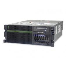 IBM Power 740 Rack (4U), 1x CPU 8-core 3.55 GHz POWER7 (up 2), 2x8GB  DDR3 DRAM, HDD 146GB 15K RPM SFF SAS, DVD-RAM, 4x1GbE, PRS 2x1725 W, Mgmt.Console