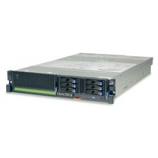 IBM Power 730 Rack (2U), 2x CPU 6-core 3.7 GHz POWER7 (up2), 2x8GB  DDR3 DRAM, HDD 146GB 15K RPM SFF SAS, DVD-RAM, 4x1GbE, PRS 2x1725 W, Mgmt.Console