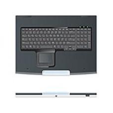 1U Rack Keyboard  and amp  Drawer (1U keyboard with touchpad, drawer, USB) (instead of 257054-B31)