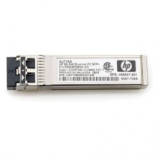 HP 8Gb Shortwave Transceiver Kit (LC con69tor) for 8Gb SAN Switch B-series