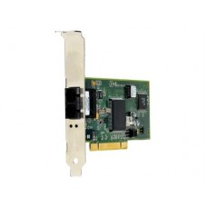 Allied Telesis 32 bit 100Mbps Fast Ethernet Fiber Adapter Card  SC con69tor  includes both standard and low profile brackets  Single pack