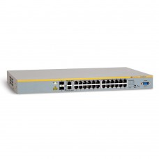 Allied Telesis 24 x10/100TX +  2x10/100/1000T or SFP, managed L2, Stackable, up to 6 units, 19