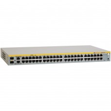 Allied Telesis 48 Port POE Stackable Managed Fast Ethernet Switch with Two 10/100/1000T / SFP Combo uplinks