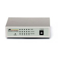 Allied Telesis 5x10/100TX with ext P/S - NO MDI/MDIx on all ports, Layer 2 Switch Unmanaged
