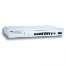 Allied Telesis 8x10/100Mbps + 100FX Port unmanaged switch, internal power supply