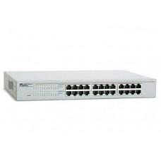 Allied Telesis 24x10/100/1000TX unmanged switch, 19
