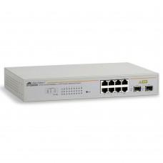 Allied Telesis 8 port 10/100/1000TX WebSmar switch with 1 SFP bays