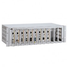 Allied Telesis 12-slot media converter rack-mount chassis with a removable internal universal power supply, Rack Mount Kit