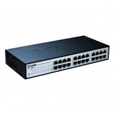 "D-Link DES-1100-24, L2 Managed EasySmart Switch, 24x10/100BASE-TX compact 11"""