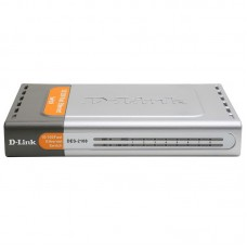 D-Link DES-2108/E/B, Smart Switch, 8x10/100BASE-TX