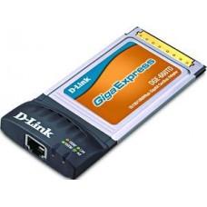 D-Link DGE-660TD, PCMCIA CardBus, 10/100/1000Mbps, 1-port UTP