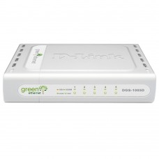 D-Link DGS-1005D, Gigabit Switch, 5x10/100/1000Mbps, with Green Ethernet (replace DGS-1005D/GE)
