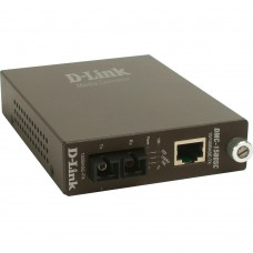 D-Link  DMC-1580SC, Smart-Media Converter, 10/100Base-TX to 100Base-FX single-mode, (80KM, SC)