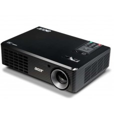 Acer projector X1161P, DLP, CBII+, SpectraBoost,, EcoPro, ZOOM, SVGA 800X600, Auto Keystone, (DLP 3D), 2.2KG, '4000:1, 2700 LUMENS, BAG, old p/n EY.JBU01.001