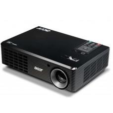 Acer projector X110P, DLP, CBII+, SpectraBoost,, EcoPro, ZOOM, SVGA 800X600, (DLP 3D), 2.2KG, '4000:1, 2700 LUMENS, old p/n EY.JBU01.039