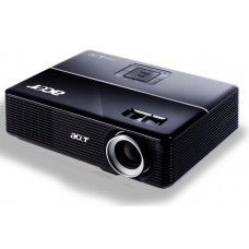 Acer projector P1206P, DLP, ColorBoost™ II, EcoPro, ZOOM, XGA 1024x768, DLP(3D), 2.52KG, '10000:1, 3500Lm, HDMI, bag, Autokeystone, ExtremeEco, replace EY.K1801.001 (P1206)