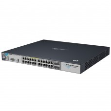 HP 3500-24G-PoE yl Switch (20x10/100/1000POE+4x10/100/1000POE or 4xGbics, opt.4x10Gbit uplinks, managed, layer 3/4 router,IEEE 802.3af,stackable 19