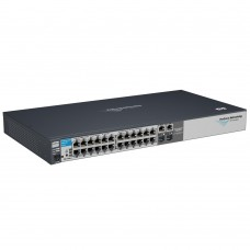 HP 2510-24 Switch (24 ports 10/100 + 2 10/100/1000 or 2mini-Gbics, Managed, Layer 2, Stackable 19', Fanless design)(repl. for JE025A, JF427A)