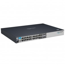 HP 2810-24G Switch (20 ports 10/100/1000 +4 10/100/1000 or 4mini-Gbics, Managed, Layer 2, Stackable 19')