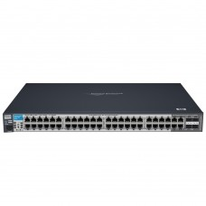 HP 2810-48G Switch (44 ports 10/100/1000 +4 10/100/1000 or 4mini-Gbics, Managed, Layer 2, Stackable 19')