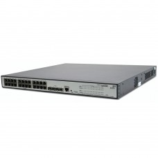 HP 1910-24G-PoE(170W) Switch (24x10/100/1000 RJ-45 + 4xSFP Web, PoE 170W, SNMP, L3 static, single IP management up to 32 units, 19')