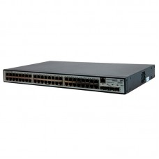 HP 1910-48G Switch (48x10/100/1000 RJ-45 + 4xSFP Web, SNMP, L3 static, single IP management up to 32 units, 19')