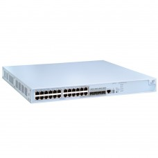 HP 4210-24G-PoE Switch (20x10/100/1000 + 4x10/100/1000 or SFP, 2 x 10G Slots, Managed, L3 static, PoE 370W, Clustered Stacking, 19')