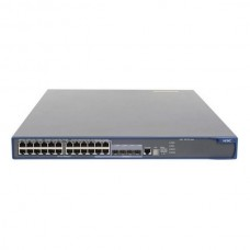 HP 5500-24G-PoE+ EI Switch w/2 Intf Slts (24x10/100/1000 PoE+ + 4x10/100/1000 or SFP + 2 module slots, Managed dynamic L3, IRF Stacking, 19')