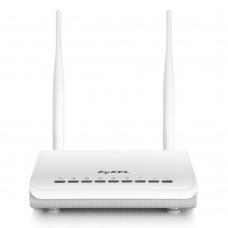 ZyXEL Keenetic Интернет-центр для подключения по выделенной линии Ethernet, с точкой доступа Wi-Fi 802.11n 300 Мбит/с, коммутатором Ethernet и многофункциональным хостом USB