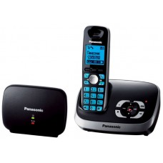 72 KX-TG6541RUB (черный) АОН, дисплей, подсветка дисплея,часы, 100 ном., полифония, спикерфон