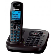 72 KX-TG6561RUT (темно-серый) AOH, Caller ID, подключ до 6 доп.трубок, подсветка дисплея и клав-ры, скиперфон база/трубка, 100 ном., полифония, двойной набор база/трубка, цифровой автоотетчик