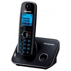 72 KX-TG6611RUB (черный) AOH, Caller ID, подключ до 6 доп.трубок, подсветка дисплея и клав-ры, скиперфон, 100 ном., полифония 32, ночной режим