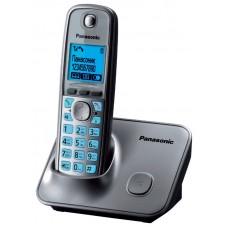 72 KX-TG6611RUM  (серый металлик) AOH, Caller ID, подключ до 6 доп.трубок, подсветка дисплея и клав-ры, скиперфон, 100 ном., полифония 32,  ночной режим