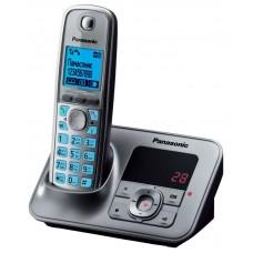 72 KX-TG6621RUM (серый металлик) AOH, Caller ID, подключ до 6 доп.трубок, подсветка дисплея и клав-ры, скиперфон, 100 ном., полифония 32, ночной режим, двузначный дисплей на базе, цифровой авто