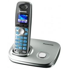 72 KX-TG8011RUS (серебристый) AOH, Caller ID, подключ до 6 доп.трубок, цветной дисплей, однокнопочный набор, подсветка дисплея и клав-ры, скиперфон, 200 ном., полифония, ночной режим, цифровой