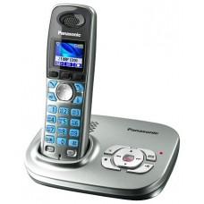72 KX-TG8021RUS (серебристый) AOH, Caller ID, подключ до 6 доп.трубок, цветной дисплей, однокнопочный набор, подсветка дисплея и клав-ры, скиперфон, 200 ном., полифония, ночной режим, цифровой