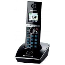 72 KX-TG8051RUB (черный) AOH, Caller ID, подключ до 6 доп.трубок, подсветка дисплея и клав-ры, скиперфон, 200 ном., полифония 32, ночной режим, TFT дисплей цветной, цифровой автоответчик, oднок