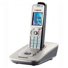 72 KX-TG8411RUN (платиновый) AOH, Caller ID, подключ до 6 доп.трубок, подсветка дисплея и клав-ры, скиперфон, 200 ном., полифония 32, ночной режим, дисплей цветной 2,0