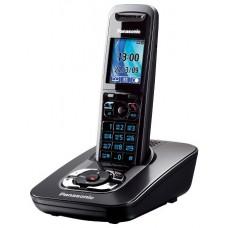 72 KX-TG8421RUT (темно-серый) AOH, Caller ID, подключ до 6 доп.трубок, подсветка дисплея и клав-ры, скиперфон, 200 ном., полифония 32, ночной режим, дисплей цветной 2,0