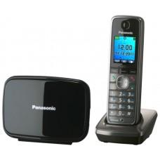 72 KX-TG8611RUM  (серый металлик) AOH, Caller ID, подключ до 6 доп.трубок, подсветка дисплея и клав-ры, скиперфон, 500 ном., полифония 32, ночной режим, TFT дисплей цветной, цифровой автоответч