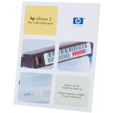 HP Ultrium2 400Gb bar code label pack (100 data + 10 cleaning) for C7972A (for libraries  and amp  autoloaders)