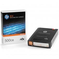 HP RDX 500GB data cartridge