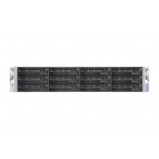 70 ReadyNAS 4200 Rack-mount 12-bay NAS with redundant PSU and 10Gb SFP+ module (no drives)