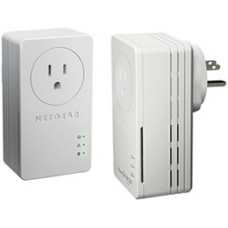 70 Powerline AV Ethernet adapters 200 Mbps bundle 200 Мбит/с with 1 LAN 10/100 Mbps port, pass-through outlet (2 x XAV1601)